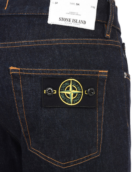 13223576uu - PANTS - 5 POCKETS STONE ISLAND