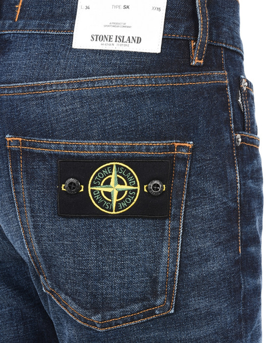 13223581pe - PANTS - 5 POCKETS STONE ISLAND