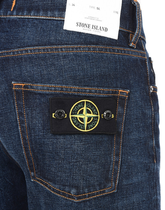 13223585ga - PANTS - 5 POCKETS STONE ISLAND