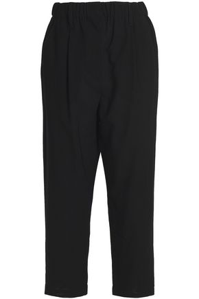 BRUNELLO CUCINELLI Wool-twill straight-leg pants