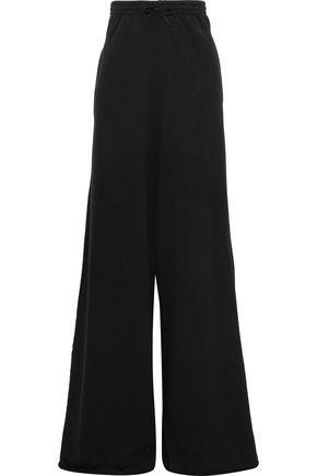 VETEMENTS French cotton-blend terry wide-leg pants