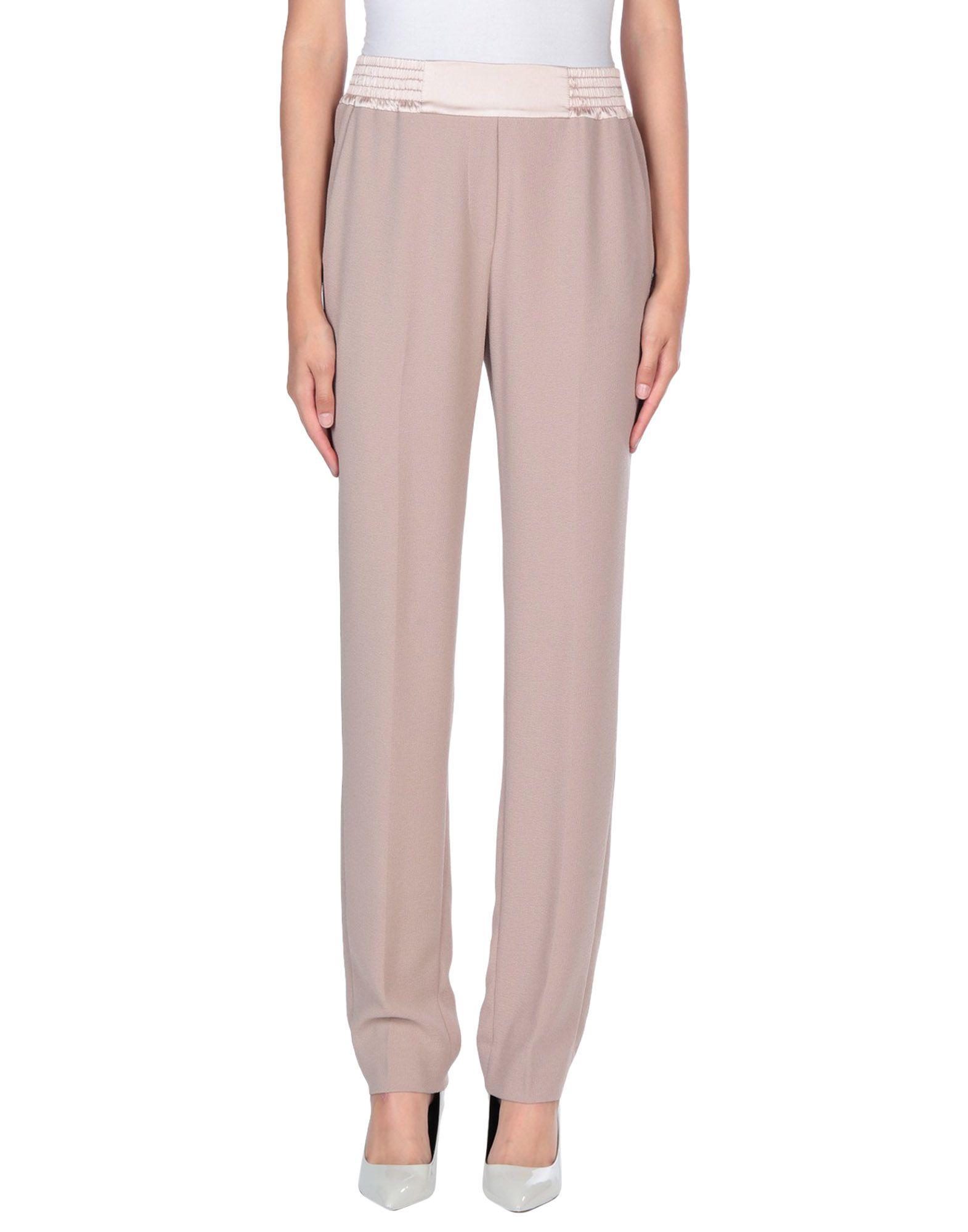 VIA MASINI 80 Casual Pants in Pastel Pink