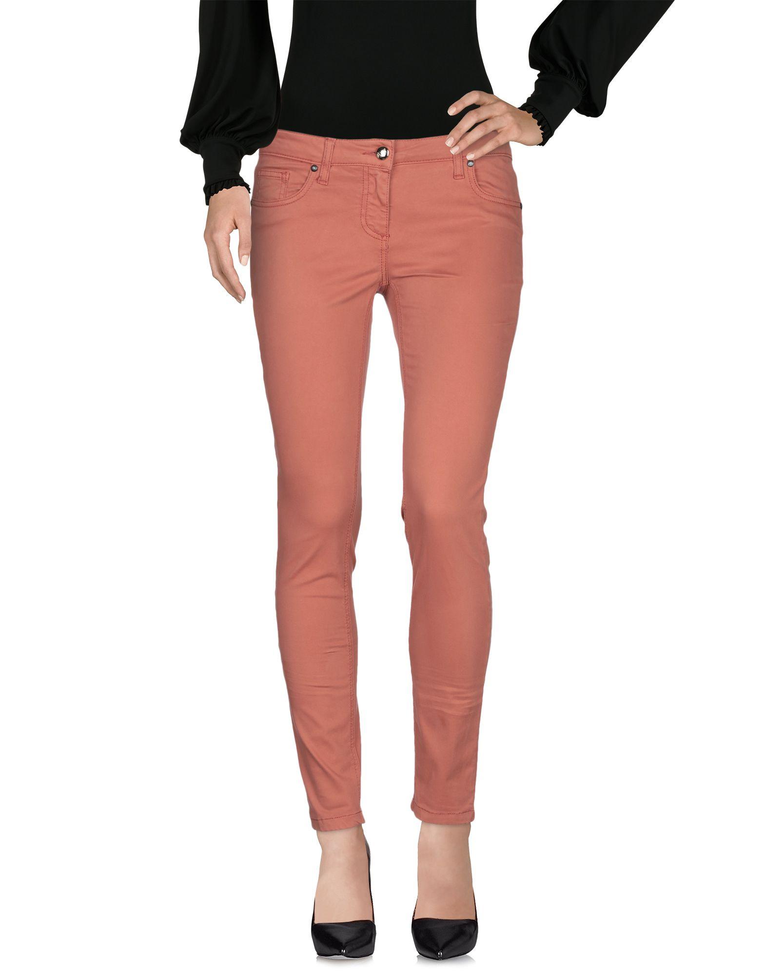 BETTY BLUE Повседневные брюки брюки узкие с пропиткой 5 карманов длина 30