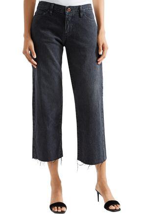 SIMON MILLER Tilson cropped mid-rise straight-leg jeans