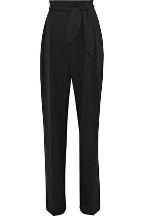 IRO Fernie pleated wool-blend twill wide-leg pants