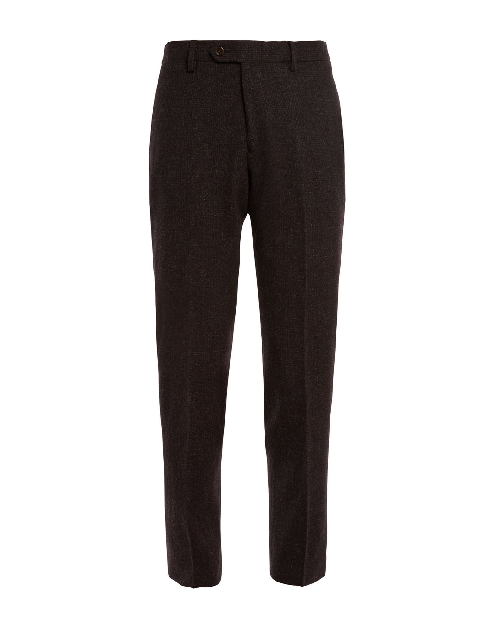 J.CREW Casual pants. flannel, no appliqués, prince of wales design, mid rise, regular fit, tapered leg, button, zip, multipockets, tailored. 100% Wool