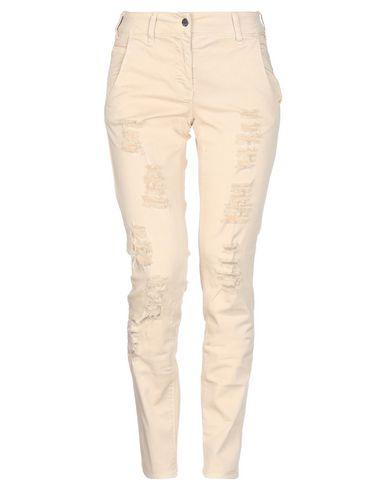 Купить Повседневные брюки бежевого цвета