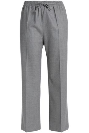 JOSEPH Wool-blend straight-leg pants