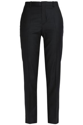 JOSEPH Wool-twill slim-leg pants