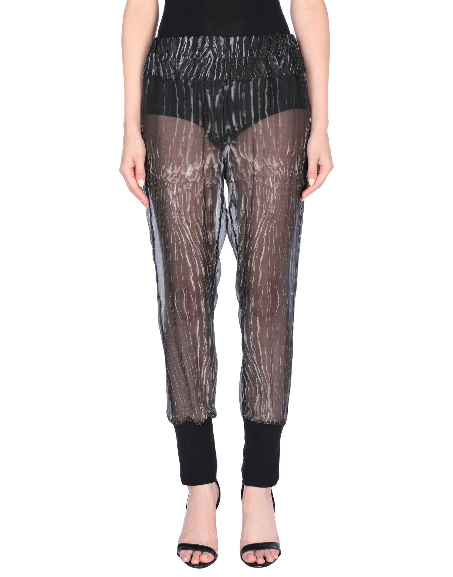 ANN DEMEULEMEESTER Повседневные брюки цена 2017