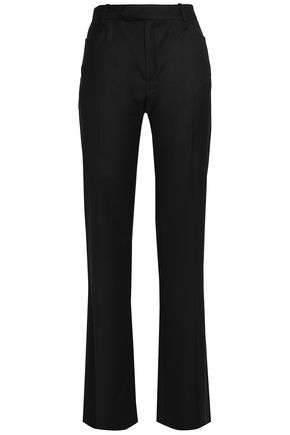 twill-wide-leg-pants by joseph