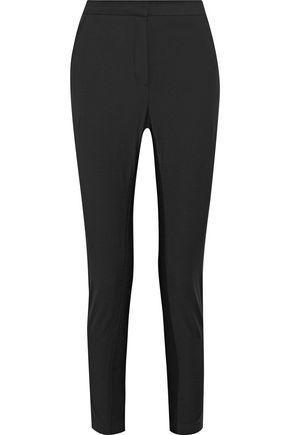 BY MALENE BIRGER Teodosiah cropped paneled twill tapered pants