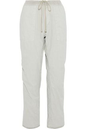 JAMES PERSE Cotton straight-leg pants