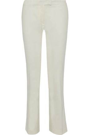 JOSEPH Finley cotton-blend straight-leg pants