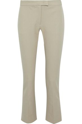 JOSEPH Finley cropped twill tapered pants
