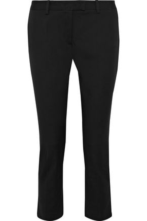 JOSEPH cotton-blend tapered pants