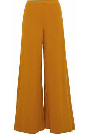 SIMON MILLER Rian ribbed cotton-blend wide-leg pants