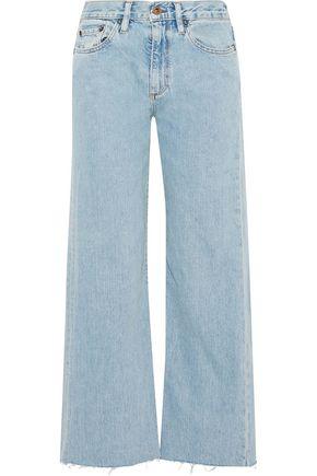 SIMON MILLER Mentz cropped mid-rise straigh-leg jeans