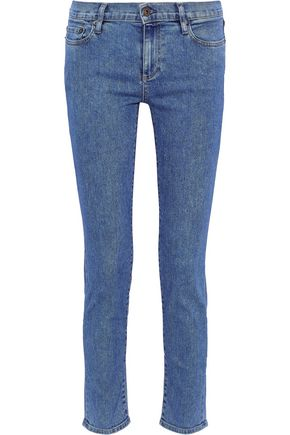 SIMON MILLER Atlee cropped low-rise skinny jeans