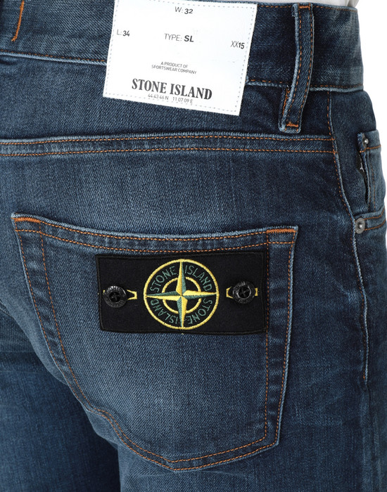 13227722pi - TROUSERS - 5 POCKETS STONE ISLAND