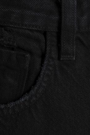 J BRAND Ivy cropped distressed boyfriend jeans