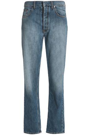 MAISON MARGIELA Faded mid-rise straight-leg jeans