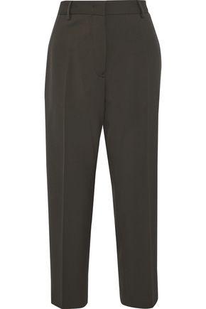 JIL SANDER Diego wool-blend twill straight-leg pants