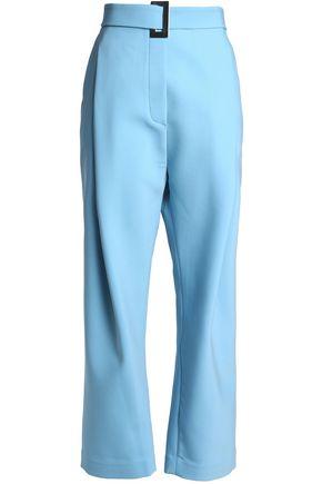 ELLERY Belted woven wide-leg pants