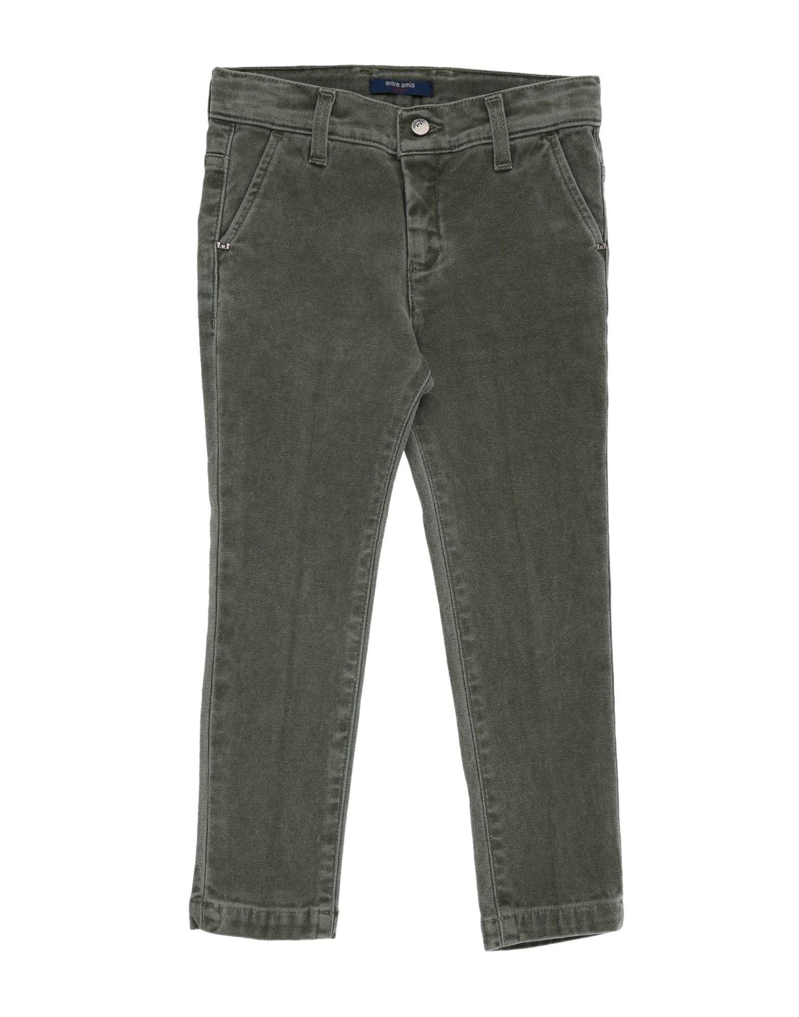 Entre Amis Garçon Kids' Casual Pants In Gray