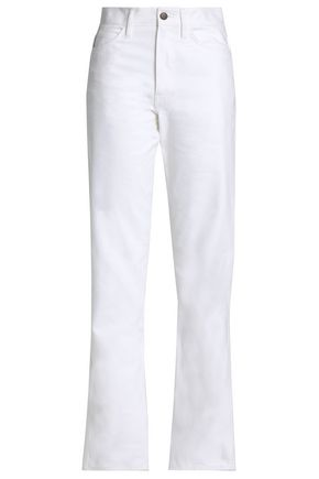 MAISON MARGIELA Cotton-canvas straight-leg pants