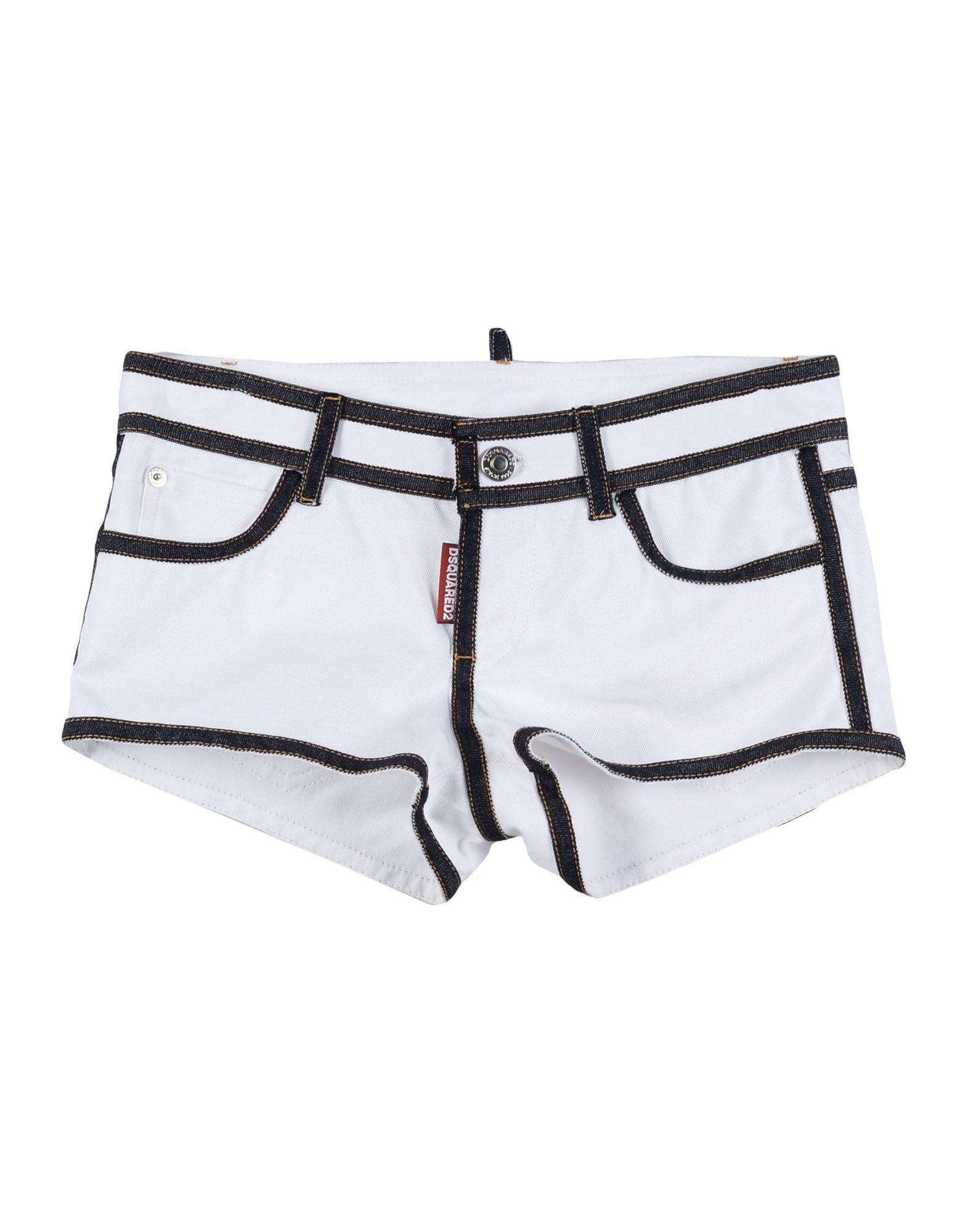 DSQUARED2 Mädchen 9-16 jahre Shorts4 weiß