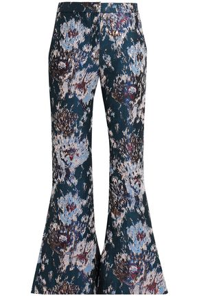 PETERSYN Jacquard flared pants