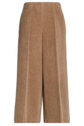 MAISON MARGIELA Alpaca and wool-blend wide-leg pants