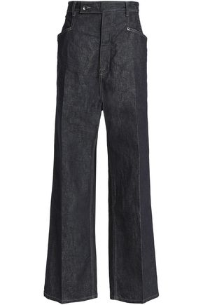DRKSHDW by RICK OWENS High-rise wide-leg jeans