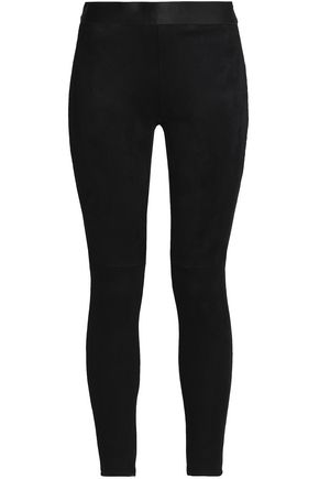 BAILEY 44 Make Believe cropped faux suede leggings