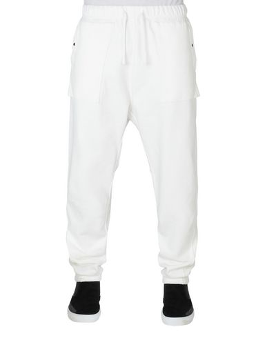 60607 UTILITY SWEATPANTS CON ARTICULATION TUNNEL (FELPA DIAGONALE) TINTI IN CAPO