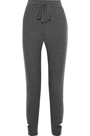 LNA Cutout mélange stretch-Tencel jersey track pants