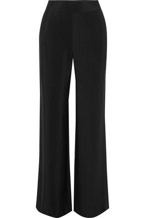 SACHIN & BABI Basse silk-twill wide-leg pants
