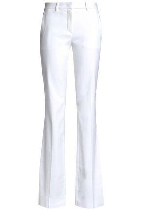 ROBERTO CAVALLI Stretch-cotton twill bootcut pants