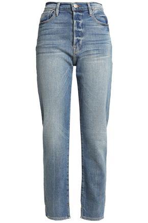 FRAME Faded boyfriend jeans