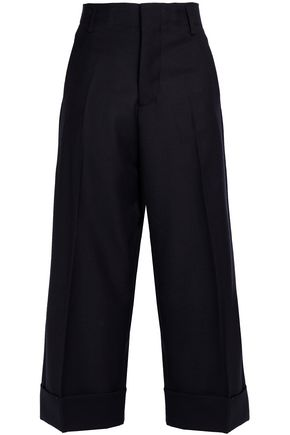 MARNI Wool wide-leg pants