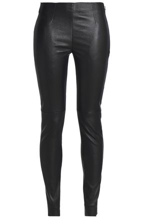 OAK Park stretch-leather leggings