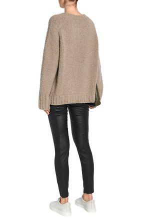 VINCE. Stretch-leather slim-leg pants