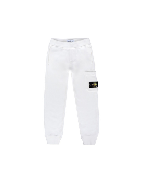 STONE ISLAND KIDS Fleece Pants 60840