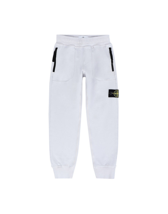 STONE ISLAND KIDS Fleece Pants 60542
