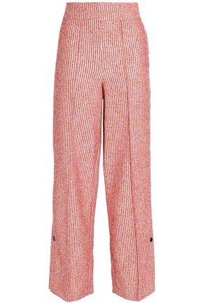 BY MALENE BIRGER Bouclé-tweed wide-leg pants