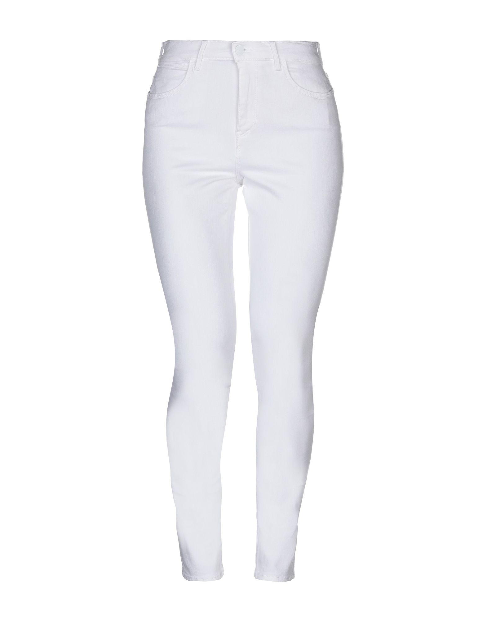 WRANGLER Джинсовые брюки white high waist skinny jeans with ripped detailing