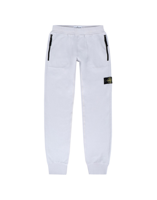STONE ISLAND JUNIOR Pantaloni in felpa 60542
