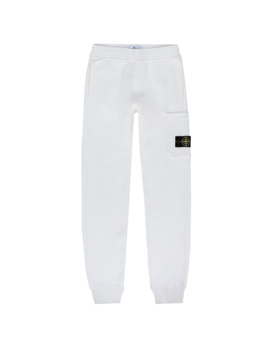 STONE ISLAND JUNIOR Pantaloni in felpa 60840