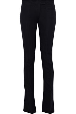 ANN DEMEULEMEESTER Wool-blend twill slim-leg pants